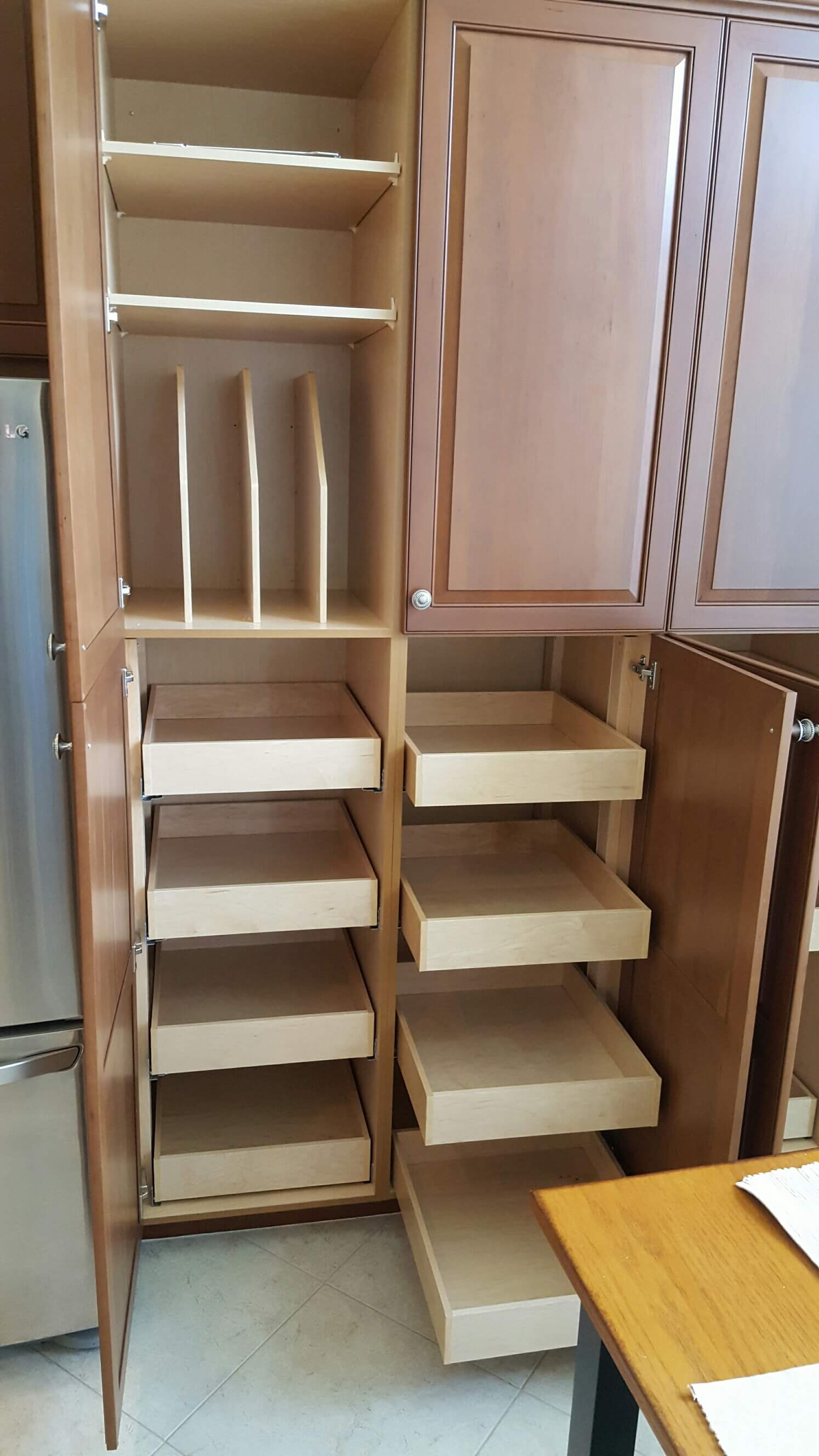 kitchen cabinets with drawers that roll out cupboard 25 best roll out shelves ideas on pinterest slide out