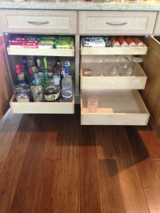 Custom Roll Out Drawers in North Palm Beach - The Drawer Dude