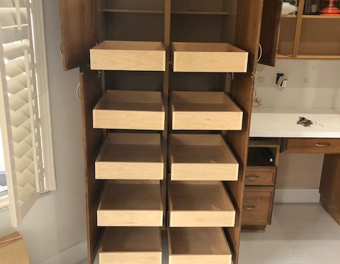 custom roll out drawers in lake worth, fl - The Drawer Dude