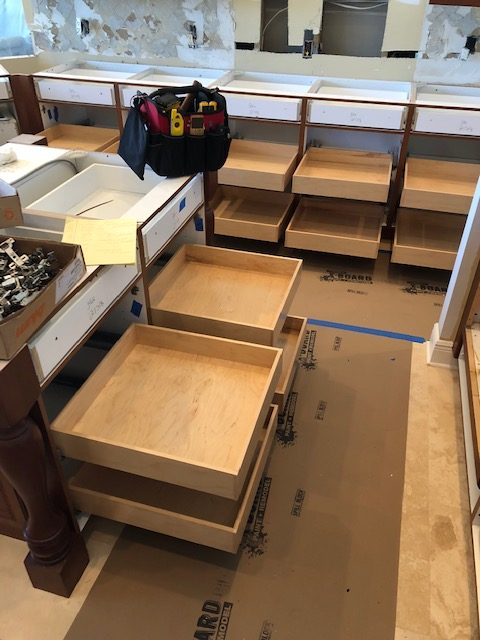 custom slide out drawers   slide out drawers in palm beach county