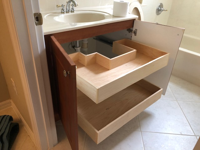 Get Bathroom Cabinet Drawer Installation By The Drawer Dude